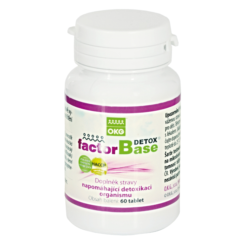FACTOR BASE DETOX - 60ks